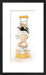 Basil in the bathroom III by Harry Caunce