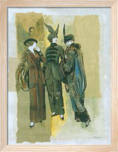 The Women I by Joseph Augustine Grassia