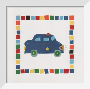Police Car by Sophie Harding