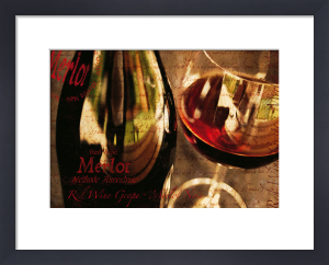 Red Wine Grape by Teo Tarras