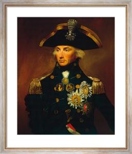 Admiral Sir Horatio Nelson by Lemuel Francis Abbott