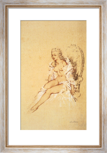 Mademoiselle L'Ange by Sir William Russell Flint