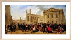 Degree Morning, Cambridge, 1863 by Robert Farren