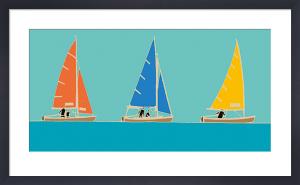 Sailing Trio I by Emily Burningham