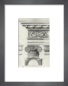 English Architectural I by The Vintage Collection