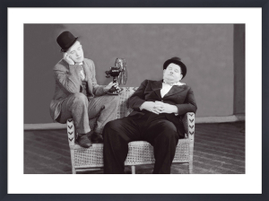 Laurel and Hardy by Celebrity Image