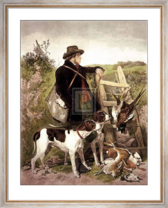 The English Gamekeeper by Richard Ansdell