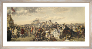 Derby Day by William Powell Frith
