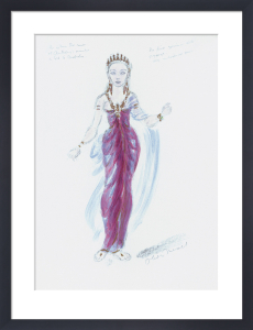 Designs For Cleopatra V by Oliver Messel
