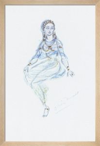 Designs For Cleopatra VII by Oliver Messel