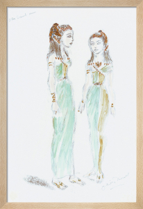 Designs For Cleopatra XLIX by Oliver Messel