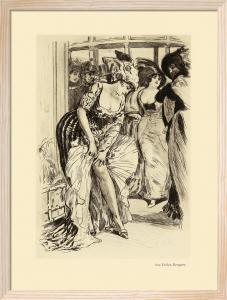 Aux Folies Bergere by Almery Lobel-Riche