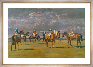 Before the Start by Sir Alfred Munnings