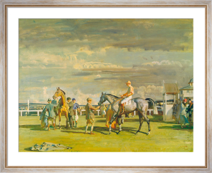 After the Race by Sir Alfred Munnings
