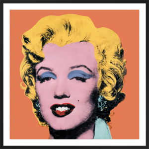 Shot Orange Marilyn, 1964 by Andy Warhol