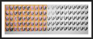 Marilyn x 100 by Andy Warhol