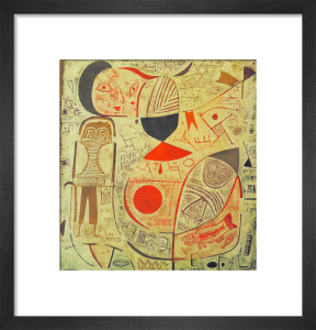 Printed Sheet with Pictures, 1937 by Paul Klee