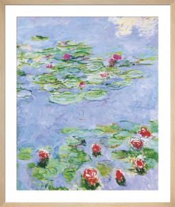 Water Lilies, c.1914-1917 by Claude Monet