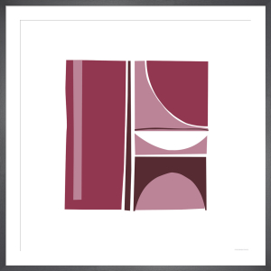 Coulis (Silkscreen print) by Denise Duplock