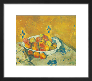The Plate of Apples, c. 1897 by Paul Cezanne