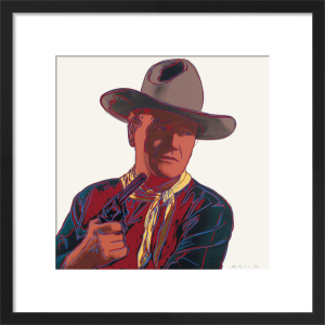 John Wayne, 1986 by Andy Warhol