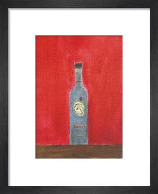 Vodka Bottle by Craigie Aitchison