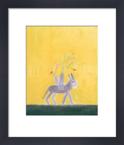 Donkey Still Life by Craigie Aitchison