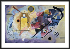 Yellow, Red, Blue, 1925 by Wassily Kandinsky
