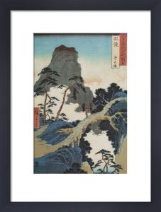 Go-Kanosho, Higo Province by Ando Hiroshige