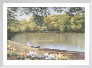 Golden Pond by Diane Romanello