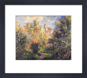 Gardens at Bordighera, 1884 by Claude Monet