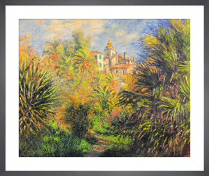 Gardens at Bordighera, 1884 by Claude Monet