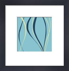 Aqua Azure (giclee) by Denise Duplock