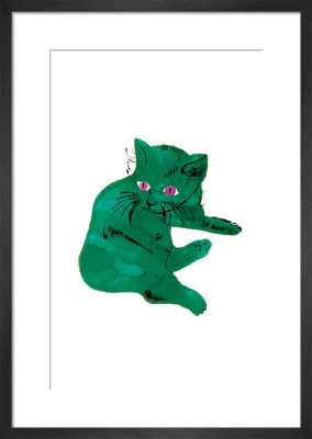 Green Cat, c. 1954 by Andy Warhol
