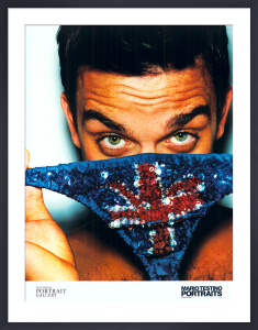 Robbie Williams by Mario Testino
