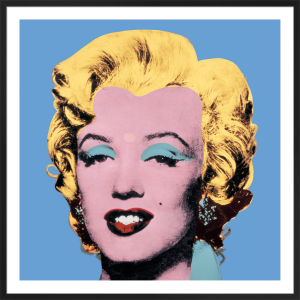 Shot Blue Marilyn, 1964 by Andy Warhol
