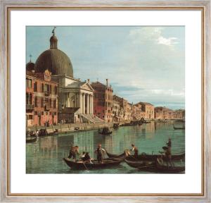 Venice, Upper Reach by Giovanni Canaletto