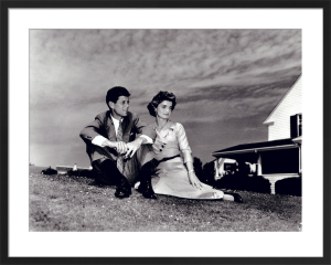 Jack and Jackie, 1953 by Celebrity Image