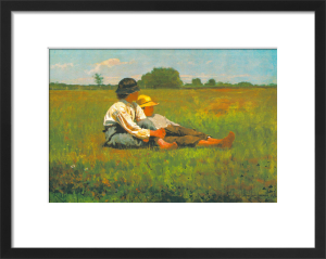 Boys in a Pasture, 1874 by Winslow Homer