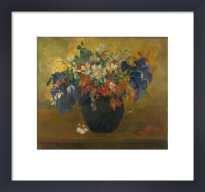 Vase of Flowers, 1896 by Paul Gauguin