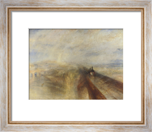 Rain, Steam and Speed - The Great Western Railway by Joseph Mallord William Turner