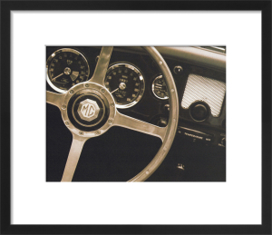 Steering Wheel by John Maggiotto