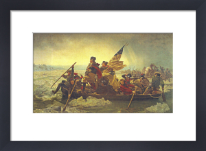 Washington Crossing the Delaware, 1851 by Emanuel Leutze