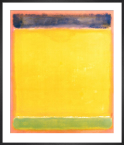 Untitled (Blue, Yellow, Green, Red) by Mark Rothko