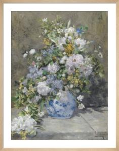 Spring Bouquet by Pierre Auguste Renoir