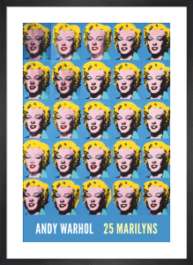 Twenty-Five Colored Marilyns, 1962 by Andy Warhol