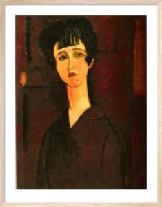 Portrait of a Girl (Victoria) by Amedeo Modigliani