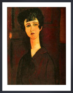 Portrait of a Girl (Victoria) by Amedeo Modigliani