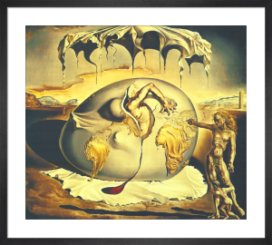 Geopoliticus Child Watching the Birth of the New Man, 1943 by Salvador Dali