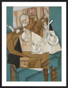 Breakfast, 1914 by Juan Gris